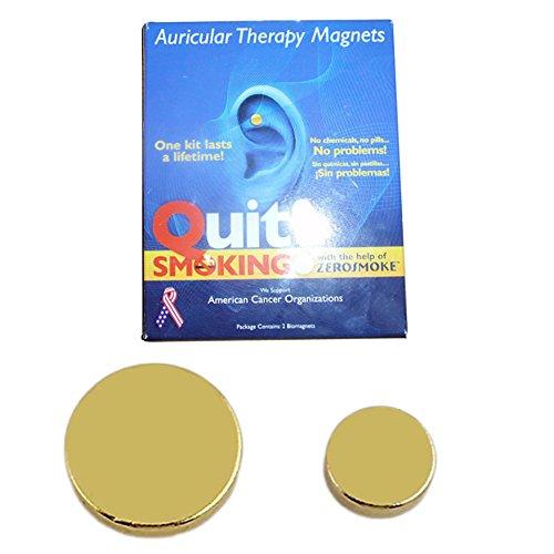 Ochine Quit Smoking Magnet Acupressure Patch Therapy Quit Smoking Stricker Magnet by Ochine