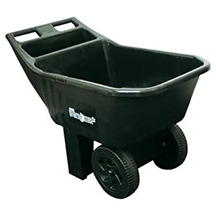 ames 2463675 3 cubic feet easy roller jr poly lawn and garden cart - Ames Garden Cart