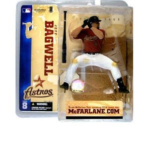McFarlane Toys MLB Sports Picks Series 8 Action Figure Jeff Bagwell (Houston Astros) Red Jersey ()