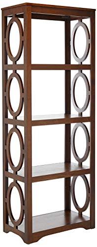 Coaster Home Furnishings Enedina 4-Shelf Open Bookcase Chestnut