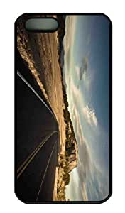 Case For Samsung Note 4 Cover CaCustomized Unique Design Large Road New Fashion PC Black Hard