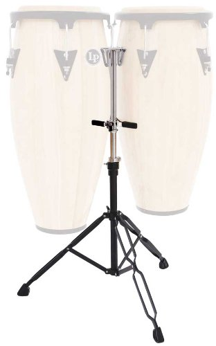 Latin Percussion LPA653 LP Aspire Slide Mount Double Conga Stand by Latin Percussion