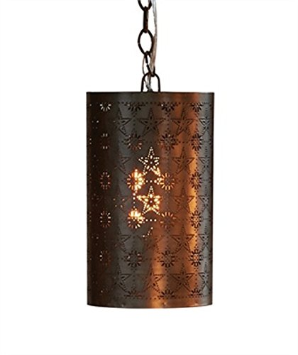 Punched Tin Outdoor Lighting