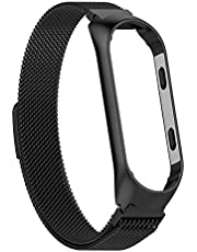 Metal Strap For Xiaomi Mi Band 3 Mi Smart Bracelet Screwless Wristbands Replace Wrist Strap