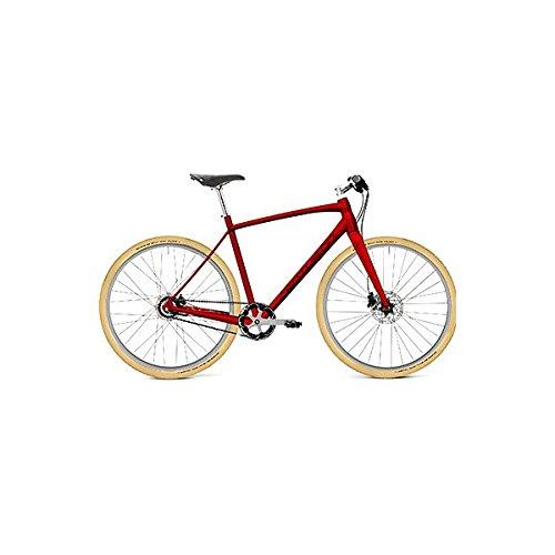 センチュリオン(CENTURION) クロスバイク CITY SPEED 8 47 C.レッド.M/シルバー 18 47cm B07DKTZ6JK