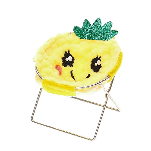 Chair Phone - Claire's Girl's Furry Pineapple Phone Holder Chair