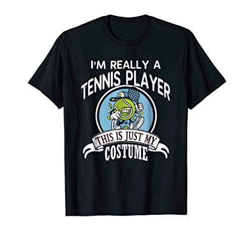 Tennis Player Halloween Costume T-shirt This Is My Costume