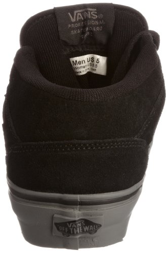 Adulto Da Nero suede Skateboard Half U charcoal Cab Grey Black Scarpe Vans Unisex qI0wn8