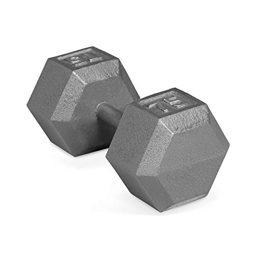 - CAP Barbell Solid Hex Single Dumbbells (75-Pound)