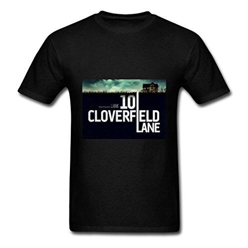 TOGEB 10 Cloverfield Lane poster Men's Short T-shirt Men Tee Black XXXL
