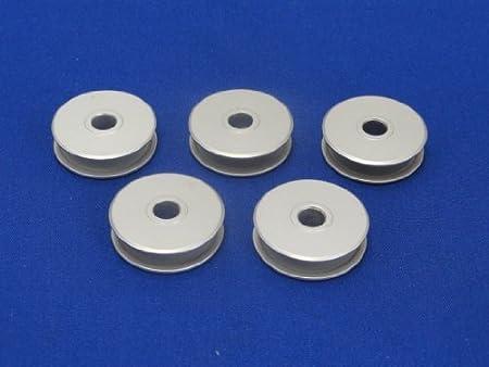 10 de aluminio compatible con bobinas cantante y máquinas de PFAFF ...