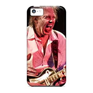 Shock-Absorbing Hard Phone Covers For Iphone 5c (gCe13895rFcp) Customized Trendy Red Hot Chili Peppers Pictures
