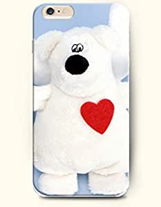 iPhone 6 Plus Case 5.5 Inches Love and Toy Bear - Hard Back Plastic Case OOFIT Authentic