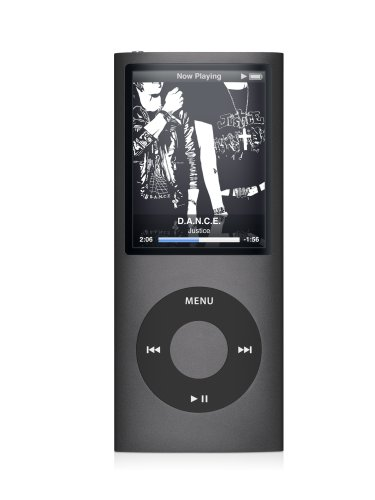 Apple iPod nano 8 GB Black (4th Generation)  (Discontinued by Manufacturer)