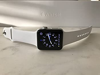 Apple Series 2 Watch For Iphone - 42mm Silver Aluminum Case With White Sport Band 1