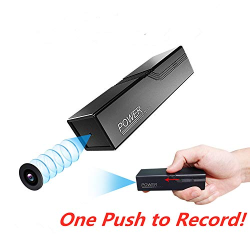 Smallest Power Bank Spy Camera Wireless Hidden,ZTour HD 1080P Portable Covert Body Video Recorder,Nanny Camera,Mobile Charger,Long Battery with Night Vision,Motion Detection for Indoor Security Spying