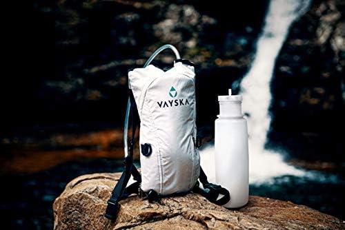 2 Liter Bottle with Storage Pocket Vayska Bottle Hydration Backpack
