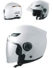 Jet Helmet Open Face Motorbike Custom Scooter Motorcycle