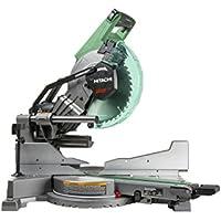 Hitachi 10-in 15-Amp Dual Bevel Sliding Laser Compound Miter Saw