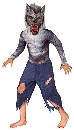(Morris Werewolf Kids Costume, Size 4-6)