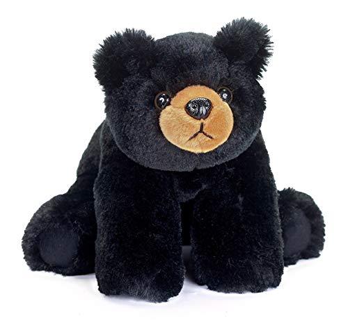 (Bearington Baby Bandit Plush Stuffed Animal Black Bear Teddy, 12.5