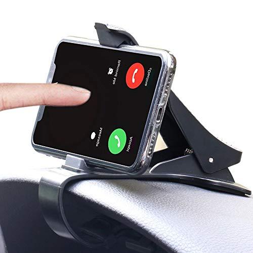 Car Phone Holder Dashboard Cellphone Mount, Mobile Clip Stand, Dashboard Clip Mount Stand for GPS and Smart Phone(3.0-6.5inch) (Best Car Dashboard Design)