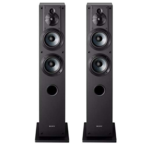 (Sony SS-CS3 3-Way 4-Driver Floor-Standing Speaker - Pair (Black))