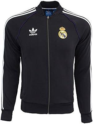adidas Originals Real Madrid Superstar Track Top: Amazon.es ...