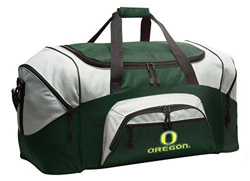 Broad Bay University of Oregon Suitcase Duffle Bag Large UO Duffel Gift Idea for Her or Him (Oregon Gym Bag)