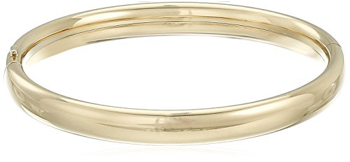 w Gold-Filled Polished Bangle Bracelet (14k Gold Baby Bangle)