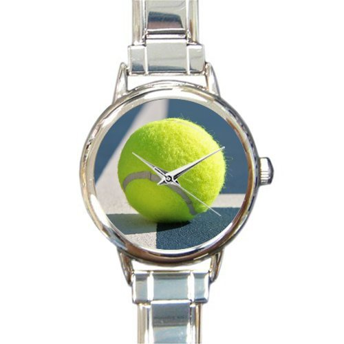 Charm Ball Italian Tennis - Friends Gifts/Thanksgiving Day Gifts Stylish Tennis Ball On The Field Round Italian Charm Watch