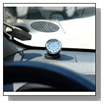 Automobile Clock for Car Dashboard Small Analog Quartz Vintage Retro Accessories Mini Stick