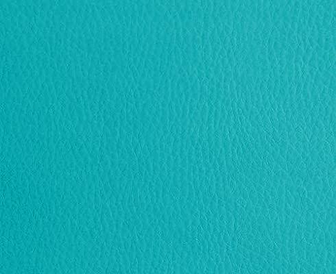 0,50 Metros de Polipiel para tapizar, Manualidades, Cojines o forrar Objetos. Venta de Polipiel por Metros. Diseño Solar Color Turquesa Ancho 140cm