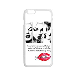 DAZHAHUI marilyn monroe quotes Phone Case for Iphone 6