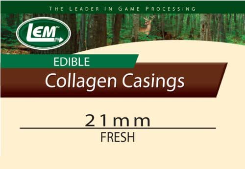 LEM Products Fresh Clear Edible Collagen Casing
