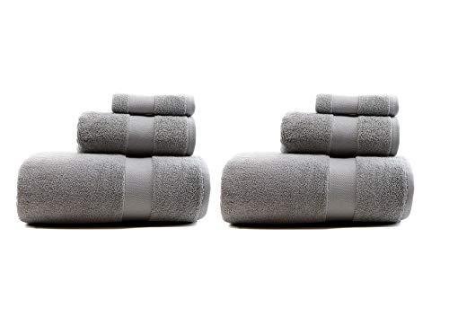 16 Piece Cape - RALPH LAUREN Wescott 6 Piece Bath Towel Set - 100% Cotton, Cape Gray , 30 x 56 inches