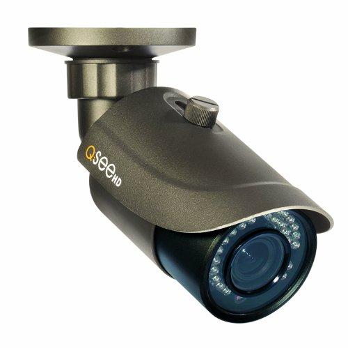 Q-See QTN8019B 1080p HD Varifocal Weatherproof IP Bullet Camera with 100-Feet Night Vision (Varifocal Lens Stand)