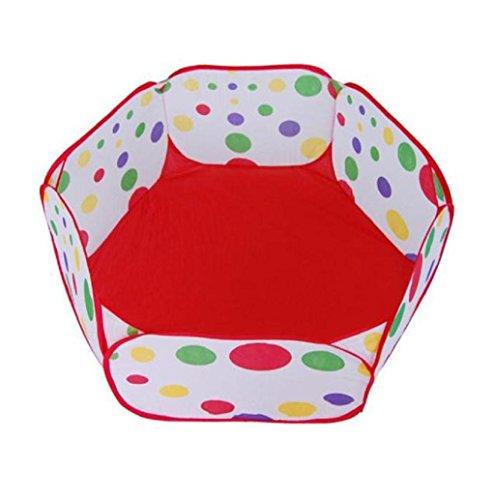 Black White Polka Dot Pram Red Flower - 4
