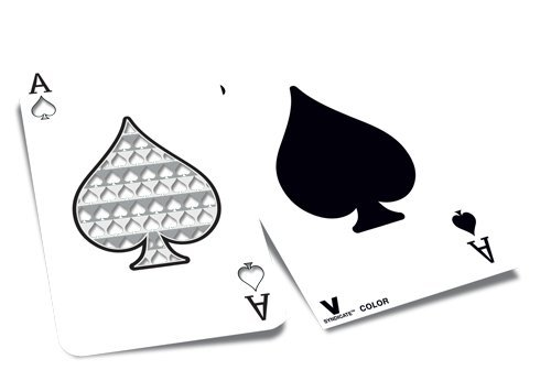 V. Syndicate Ace of Spades Playing Card Herb Grinder Card