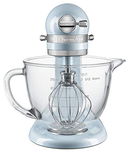 KitchenAid KSM3306XSH Artisan Mini Design Series 3.5 Quart Tilt-Head Stand Mixer, Sea Shimmer