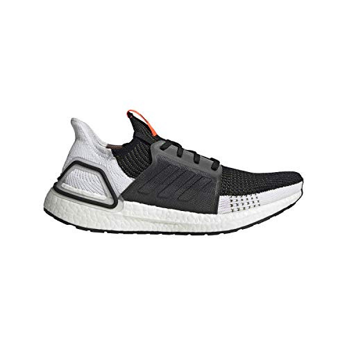 adidas Men's Ultraboost 19 m Running Shoe, Tech Olive/core Black/Solar Red, 11 Standard US Width US