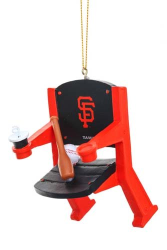(San Francisco Giants Official MLB 4 inch x 3 inch Stadium Seat Ornament)
