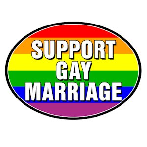 What business supports gay marriage