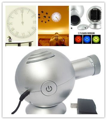 Hot 4th Gen Analog Projection Wall Clock BELL w/ LED Based Projector Cold Light by OPNE