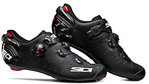 Wire 2 Carbon SpeedPlay Road Cycling Shoes (44.0, Matte Black/Black) (Sidi Cover)