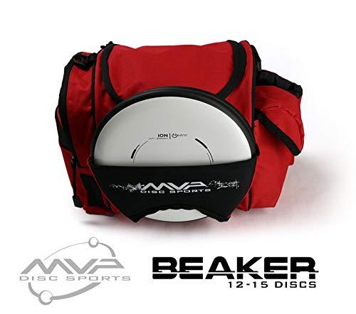 MVP Disc Sports MVP Beaker Competition Disc Golf Bag - Red