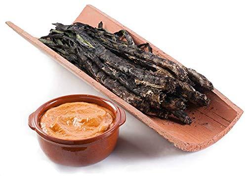 Ración de 12 Calçots asados con leña + salsa de calçots 180 gr: Amazon.es: Alimentación y bebidas