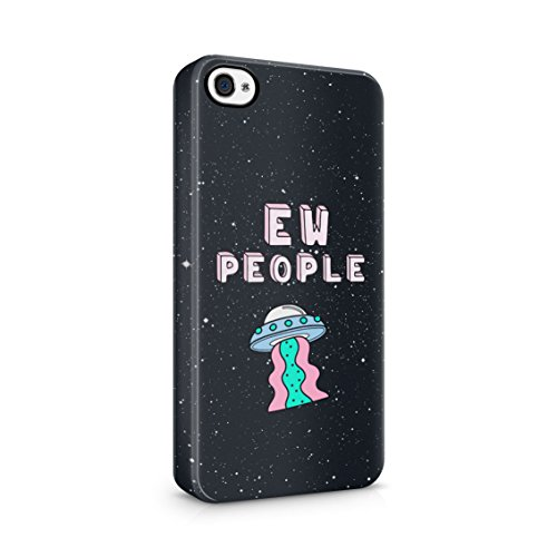 1906 Ships (Alien Spaceship Ew People Stars Space Plastic Phone Snap On Back Cover Shell For iPhone 4 & iPhone)