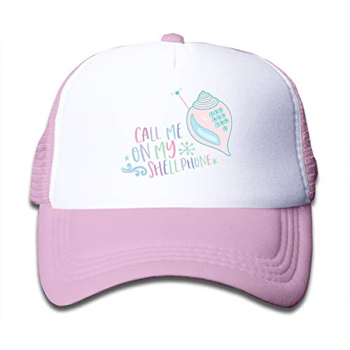Call Me On My Shell Phone Mesh Baseball Caps Sun Hat Kids Cap Boy Girl