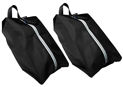 TRAVANDO Shoe Bag Set of 2 | Travel Accessories Essentials Travel Organizers Packing Cubes Suitcase Luggage Bags for Shoes by Travando (Image #2)
